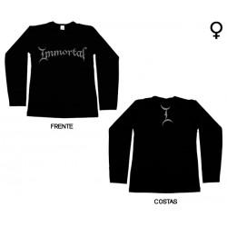 Immortal - Long Sleeve de Mulher - Logo