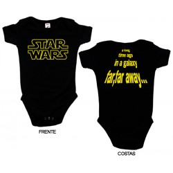 Star Wars - Body de Bebé - A Long Time Ago in a Galaxy...