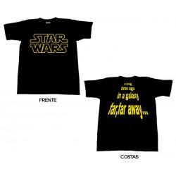 Star Wars - T-Shirt - A Long Time Ago in a Galaxy...