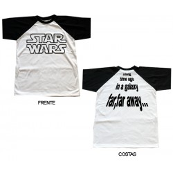 Star Wars - T-Shirt - A Long Time Ago in a Galaxy...