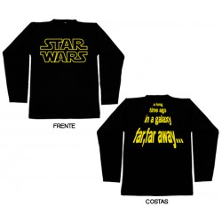 Star Wars - Long Sleeve - A Long Time Ago in a Galaxy...