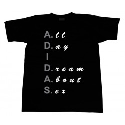 A.D.I.D.A.S - T-Shirt - All Day I Dream About Sex