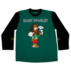 Bart Marley - Long Sleeve - Smoke the Herb Man