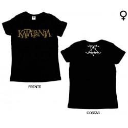 Katatonia - T-Shirt de Mulher - Logo
