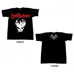 Destruction - T-Shirt - Skull