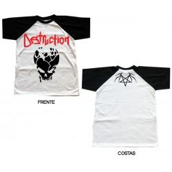 Destruction - T-Shirt - Skull