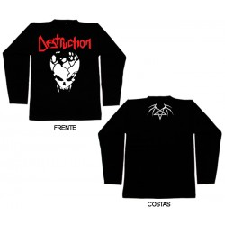 Destruction - Long Sleeve - Skull