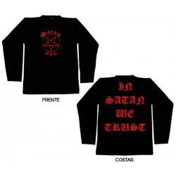 Satan 666 - Long Sleeve - In Satan We Trust