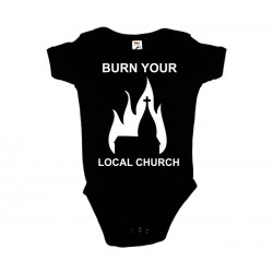Burn Your Local Church - Body de Bebé - Church