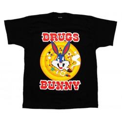 Bugs Bunny - T-Shirt - Drugs Bunny