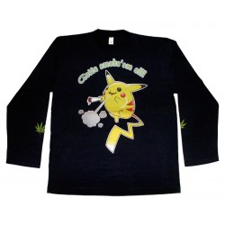 Pikatchu - Long Sleeve - Gotta Smoke 'em All