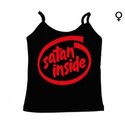 Intel - Top de Mulher - Satan Inside