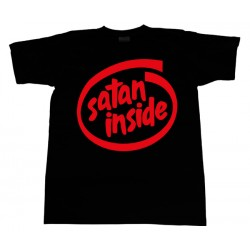 Intel - T-Shirt - Satan Inside