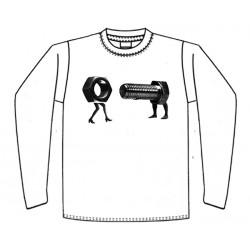 Parafuso + Porca - Long Sleeve - Imagem