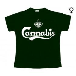 Carlsberg - T-Shirt de Mulher - Cannabis
