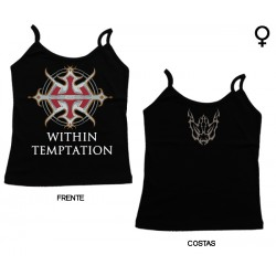 Within Temptation - Top de Mulher - Logo