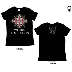 Within Temptation - T-Shirt de Mulher - Logo