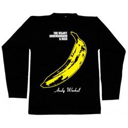 The Velvet Underground - Long Sleeve - Banana