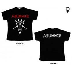 Abigor - T-Shirt de Mulher - Logo