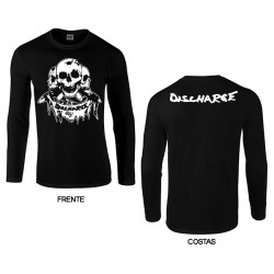 Discharge - Long Sleeve - Skull