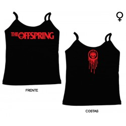 The Offspring - Top de Mulher - Flame Logo
