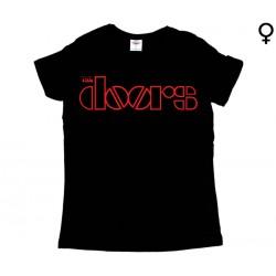 The Doors  - T-Shirt de Mulher - Logo