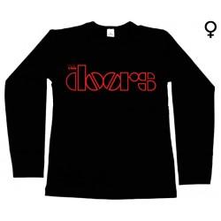The Doors  - Long Sleeve de Mulher - Logo