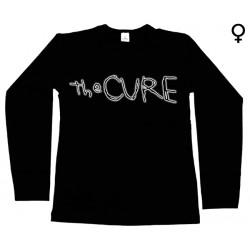 The Cure - Long Sleeve de Mulher - Logo