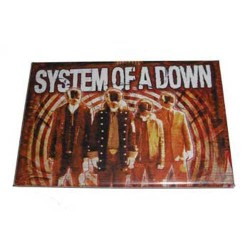 System Of A Down - Autocolante - Bullseye