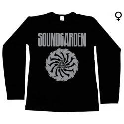 Soundgarden - Long Sleeve de Mulher - Logo