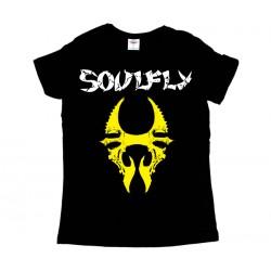 Soulfly - T-Shirt de Mulher - Logo