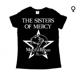 Sisters of Mercy - T-Shirt de Mulher - Merciful Release
