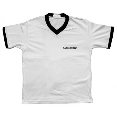 Sarcastic - T-Shirt de Mulher - Logo