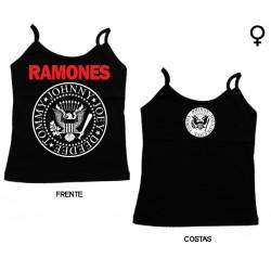 Ramones - Top de Mulher - Logo