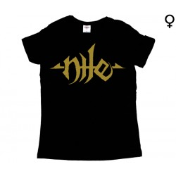 Nile - T-Shirt de Mulher - Logo
