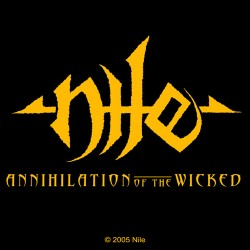 Nile - Autocolante - Wicked