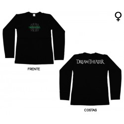 Dream Theater - Long Sleeve de Mulher - Logo