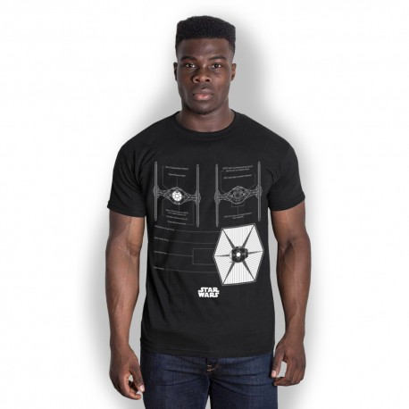 Star Wars - T-Shirt - Tie Fighter