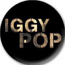 Iggy Pop - Crachá - Logo