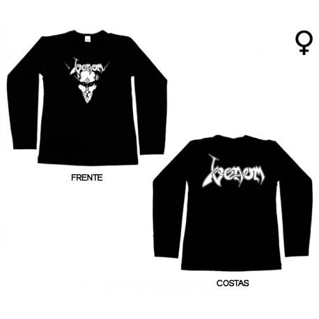 Venom - Long Sleeve de Mulher - Goat