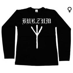 Burzum - Long Sleeve de Mulher - Rune