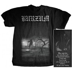 Burzum - T-Shirt - When Night Falls