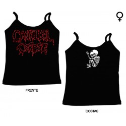 Cannibal Corpse - Top de Mulher - Logo