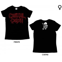 Cannibal Corpse - T-Shirt de Mulher - Logo