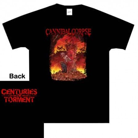 Cannibal Corpse - T-Shirt - Centuries of Torment