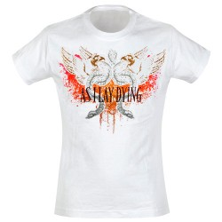 As I Lay Dying - T-Shirt de Mulher - Snakes