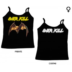 Overkill - Top de Mulher - Logo