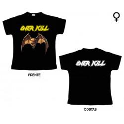 Overkill - T-Shirt de Mulher - Logo