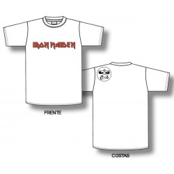 Iron Maiden - T-Shirt - Logo