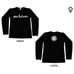 Alice in Chains - Long Sleeve de Mulher - Logo